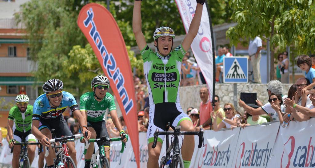 José Manuel Díaz Gallego. Un ciclista que me encanta y va para grande.
